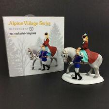 Department 56 Alpine Village Our Enchanted Kingdom 4049189 Porcelain Open Box