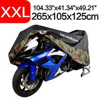 Motorrad Abdeckplane XXXL für Suzuki Intruder C 1500// T// 800// 1800 R//RT schwarz