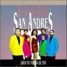 Banda San Andres - Loco Tu Forma De Ser (CD) *New/Sealed* Has a Remainder Cut