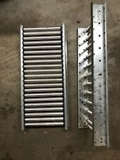 "Roller Material Conveyor - Span Track-Gravity Flow Roller, 9.5"" Wide x 22� Long"
