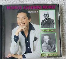 Nostalgic Marco Antonio Muñiz Interpreta a Pedro Flores y Rafael Hernandez CD