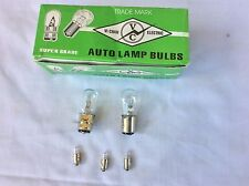 Honda C70 NU50 CT70 12V Bulbs (5 pc kit) Speedometer 3,headlight1,tail light 1