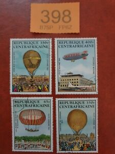 Central African Republic - 1983 - Bicentenary of Manned Flight. stamps
