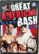 DVD WWE-The Great American Bash 2007 (Wrestling) geb.aus Sammlung,Paket FSK 16
