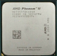 AMD Phenom II x6 1055T Processor CPU HDT55TFBK6DGR 2.8GHz 6-Core 6M AM3 125W