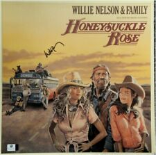 Willie Nelson Hand Signed Autographed Record Cover Honeysuckle Rose GV GA 842776
