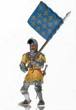 Medieval France Soldier w/ flag 1/16 figure - Energy Toys bbi