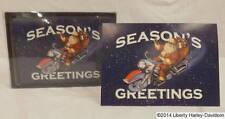 Genuine Harley-Davidson® Boxed Set of 12 Biker Santa Greeting Cards - 96857-14V