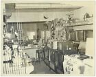 Interior, Hardware Store, televisions, appliances, and toys. 10x8 vintage photo. photo