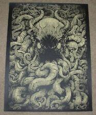 GODMACHINE art poster print FROM BELOW silkscreen