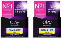 2 x Olay Anti-Wrinkle Firm & Lift Spf15 Day Cream (2 x 50ml)