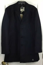TOM TAILOR DENIM Men's Wool Blend Dress Top Coat Winter Jacket Navy Sz XXL New!