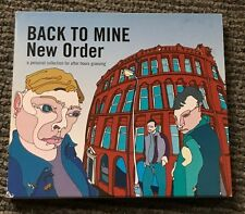 Unplayed - Rare Collectable - Back To Mine by New Order 2002 CD