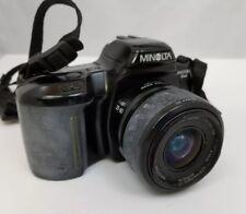 Minolta Maxxum 3xi 35mm Film Camera w AF 35-80mm 1:4 Zoom Lens Case 5 Rolls Film