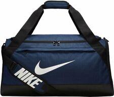 Nike Brasilia Medium Duffel Bag BA5334-410 Navy