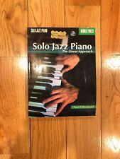 Solo Jazz Piano Berklee Press The Linear Approach Neil Olmstead