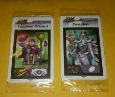 Kid Icarus AR cards Poseidon, Eggplant Wizard 8 cards lot