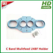 Multi Feed C Band LNB Bracket Holder Mount hold up to 4pcs C Band LNB