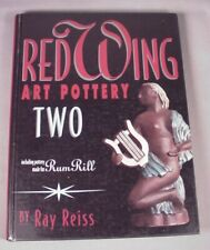 Vintage Red Wing Art Pottery Two a Collectibles Reference Price Book RumRill