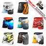 5 Pack Mens Knobby+2Pack UA Run Socks Boxer Brief Trunks Quick Dry size S-3XL