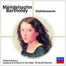 MULLOVA/AMF/MARRINER - MENDELSSOHN-VIOLINKONZERTE  CD NEU