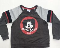 Disney Parks Mickey Mouse Club Grey Pullover Shirt Size Medium New / Tags