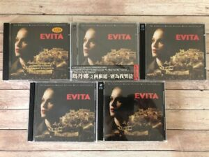 MADONNA - 5 EVITA CD album PROMO pro rare madame x vogue music ray of light