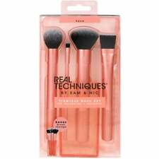 New Real Techniques Flawless Base Set of 4 Make-up Brushes