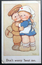 1940 London England Picture Postcard Cover To Toronto Canada Dont Worry Bout Me