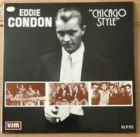 Eddie Condon ‎– Chicago Style -  Blues/Jazz Vinyl LP