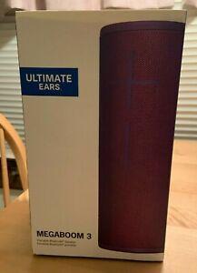 Ultimate Ears MEGABOOM 3 Waterproof Bluetooth Ultraviolet Purple