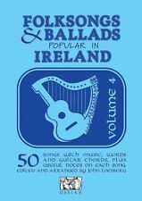 Folksongs & Ballads Popular in Ireland Sheet Music Volume 4 Book NEW 014011591