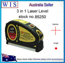 Spirit Laser Level with 5.5m Measure Tape Horizontal Vertical Line Ruler Aligner