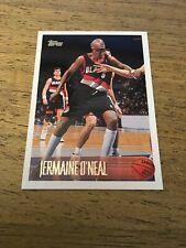 Jermaine O'Neal  Trail Blazers 1996-1997 Topps Rookie #191