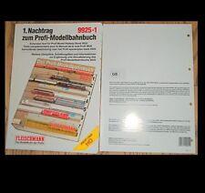 ENGLISH 1st Extension Text for Profi model railway book Fleischmann 9925-1 µ HS7