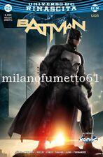 Universo Dc Rinascita BATMAN N. 21 Variant Movie Lucca Comics 2017 Edizioni RW