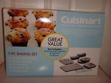 Cuisinart Chef's Classic 7-PC Non-Stick Baking Set Bakeware Pans Sheet AMB-7VPK