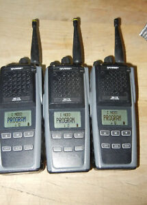 3  Harris XG-75 Portable Radio EVXG-PB78B P25 Phase1 Trunking Charger Battery