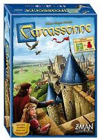 Carcassonne Family Tile Board Game Z-Man Games  ZMG ZM7810 Base Core Asmodee