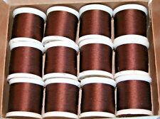 Pacific Bay Rod Winding Thread Mocha Y100A-MA  Size A 12 - 100yd Spool - SALE!