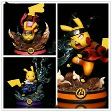 Pokemon Figure Naruto Shippuden PVC Action Figures pikachu Toys Kids Gift part