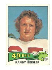 1975 Topps #138 Randy Beisler San Francisco 49ers