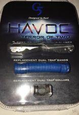 G5 Broadhead Havoc Dual Trap Replacement Collar & Blade Kit 943 #00943 3 Blades