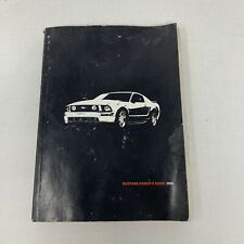 2007 07 Ford Mustang Owners Manual w// Case OEM Coupe Convertible Quick Start