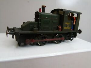 "Ixion ""O"" Gauge Fowler 0-4-0 Diesel GWR No1 Mint & Boxed"