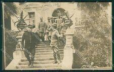 Padova Abano Terme Villa Giusti Militari cartolina QT1680
