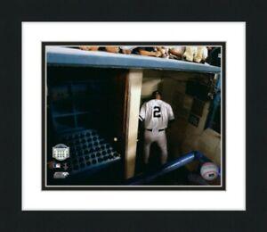 "Derek Jeter New York Yankee Stadium 2008 Final Game Photo (12.5"" x 15.5"") Framed"