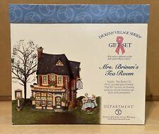 Department 56, Dickens Village, Mrs. Brimm's Tea Room