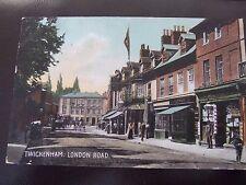 Twickenham nr Richmond Teddington, George Hotel, 1906, M & S PC Twickenham 53794