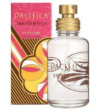 New Pacifica Sandalwood Perfume 1 oz Fresh Fragrance Sandal Wood Vegan Full Size